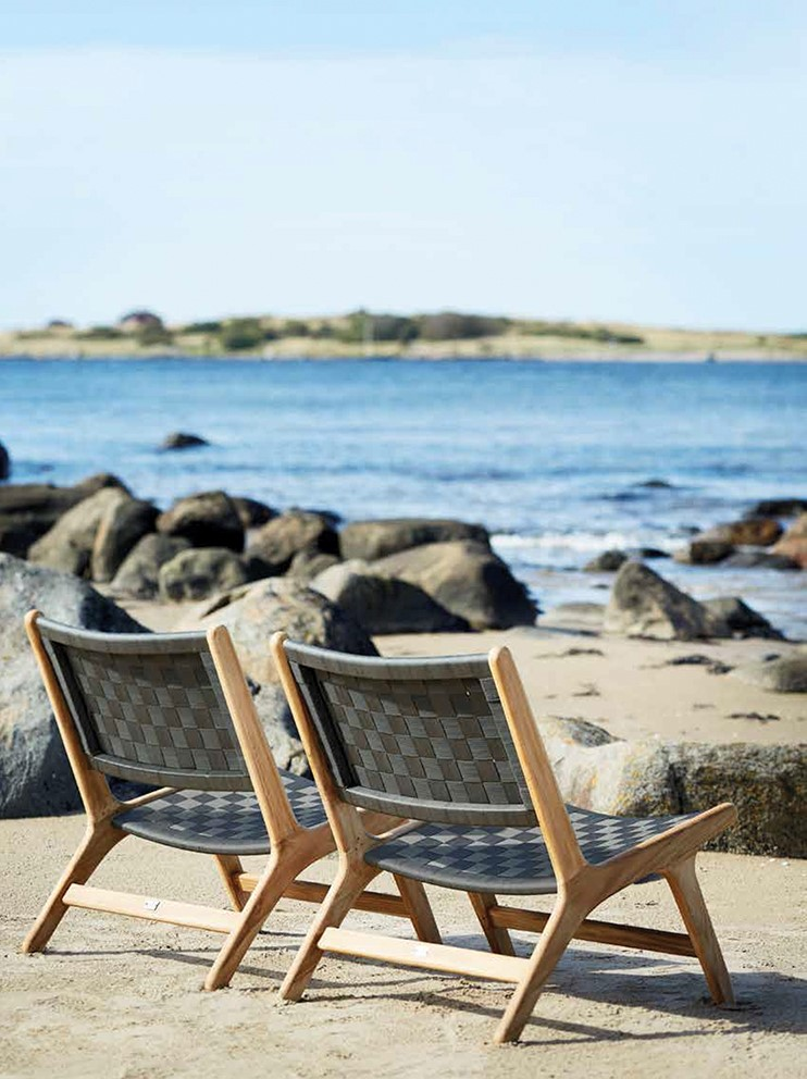 KiiL InteriørDesign viser frem stilsikre hagemøbler fra Slettvoll.
