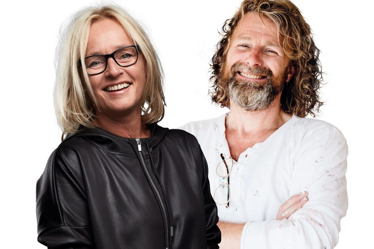 Einar og Kjersti inspirerer til kreativitet på hjemmebane
